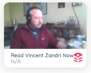 Vince Zandri Read him now video